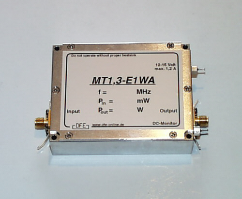 power amplifier 1,3 GHz