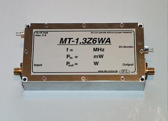 power amplifier 1,3 GHz