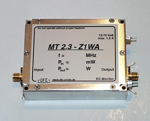 Linear power amplifier 2,4 GHz