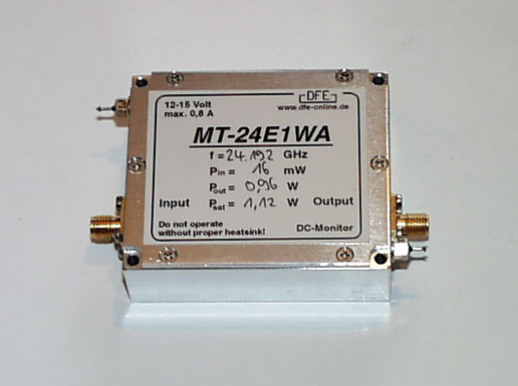 430 MHz Linearverstärker